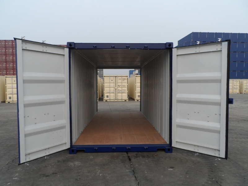 cargo door tunnel double door shipping containers florida container depot